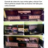 Consola Vinilos Telefunken De Coleccion