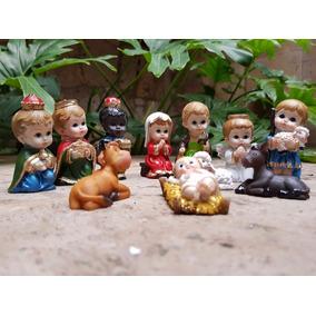 Nacimiento Ceramica Artesania Mexicana Hecho A Mano Navidad