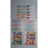 Serie De Billetes Originales De Bielorusia
