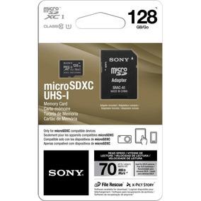 Sony Microsd 128gb Micro Sd Microsdxc Memoria Clase 10 U1