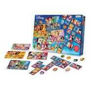 Loteria Domino Mundo Disney O Marvel Juego De Mesa Niños/as