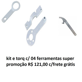 Kit E Torq C/ 4 Ferramentas Especiais Super Promoção Natal