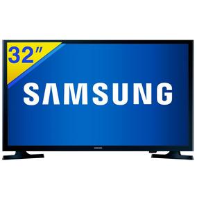 Tv Slim Led Samsung 32 Hd Com Conversor Hdmi - 32j4000