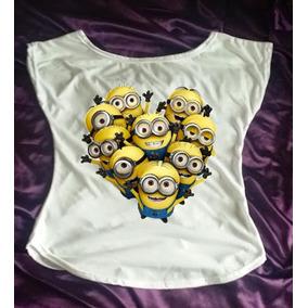 Camiseta Gola Canoa Minions Filme Malvado Favorito Movie 05
