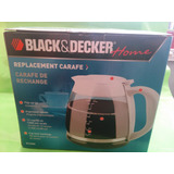 Jarra O Vaso Para Cafetera Black And Decker 12 Tzs