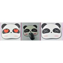Mouse Pad Panda Oso Cute Kawaii Mujeres Niños Computadora