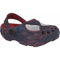 Sapato Infantil Homem Aranha Sandália Babuche Masculina
