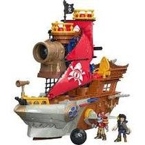 Imaginext Navio Pirata Tubarão - Mattel Fisher Price