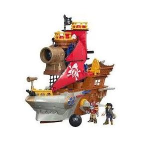 Imaginext Navio Pirata Tubarão - Mattel Fisher Price Origina