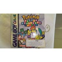 Game Boy Color Jg Lacrado Pokémon Puzzele Challenge Sem Uso