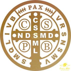 Adesivo De São Bento (dourado)