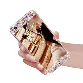 El Iphone De Apple 5 5s Sí Lujo Espejo De Diamante De Imita