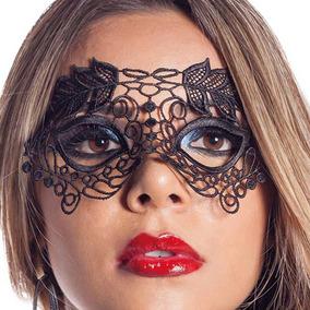 Mascará Sensual Fantasia Festas Gala Carnaval Erótica Luxo