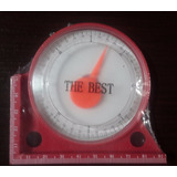 Inclinometro Analogo Magnetico Nivel Angulo Con Grados Escri