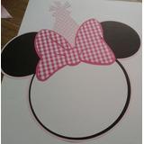 Cartel De Puerta Cumple Bienvenidos - Mickey Minnie Bebe