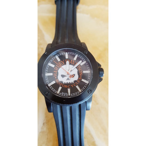 Reloj Harley Davidson By Bulova Skull Original 78a115