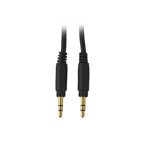 Cable Audio 3.5 Mm 1m Star Tec Bolsa Negro