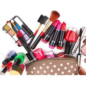 Maquillaje En Bolso Base Polvo Labial Mascara Oferta
