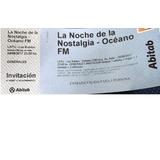 Invitaciones Noche De La Nostalgia