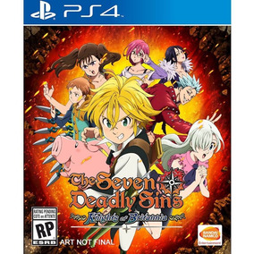 Jogo The Seven Deadly Sins Knights Of Britannia Midia Fisica