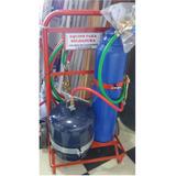 Equipo Oxi-gas 1mtx2kg P/soldadura Caño Cobre Refrigeración
