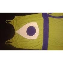 Disfraz Monster Inc Vestido De Mike Wazowski De Diseño S