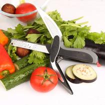 Tesoura 2 Em 1 Saladas Rápidas Frango Pronta Entrega