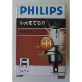 Kit 2 Lampadas H4 24v 100/90w Philips P43t-38 Original