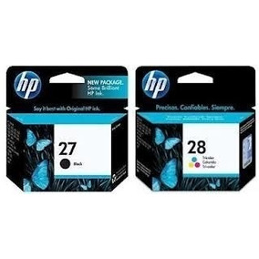 Kit De Cartucho De Tinta Hp 27 E 28 (originais) (lacrados)