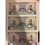 Vendo 3 Billetes De Un Peso Colombiano Agosto 7 De 1974