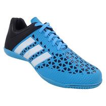 Chuteiras Adidas - Chuteira Futsal Adidas Ace 15.3 Azul Bebê