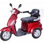Cadeira De Rodas Idoso Deficiente Cor Vermelho (parc 60x*