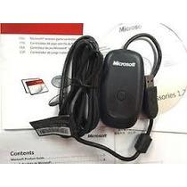 Receiver Controle Xbox 360 Wireless Para Pc Original
