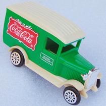 Carrinho Coca Cola Calhambeque Caminhão Brinquedo Coleção
