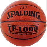 Balon Basketball Spalding Tf1000 Cuero 100% Original Y Nuevo