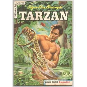 Tarzan Nº 06 (3ª Série) - Ebal-1966 - Excelente # Katram