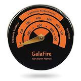 Termómetro Magnético Para Horno,estufas De Leña O De Gas
