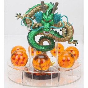 Action Figure Dbz Shenlong Metalizado + Esferas Do Dragão