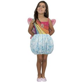 Disfraz De Barbie Mariposa Con Luz Talle 0