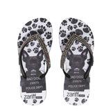 Chinelo Zariff Shoes Infantil Strass Cachorro | Zariff