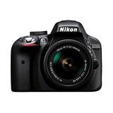 Nikon D3300 Con Af-p Dx 18-55mm Vr Digital Slr - Negro