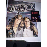 Sui Generis Official Book + Poster Gigante 70 X 90 Cms