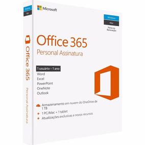 Microsoft Office 365 Personal - Para 1 Computador