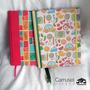 Cuaderno Artesanal 15x21cm, Tapa Dura, 80 Hojas Rayadas