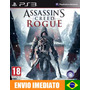 Ps3 Assassins Creed Rogue Ps3 Digital Psn Português Promoção