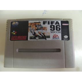 Fita Fifa 96 Jogo Snes Cartucho Super Nintendo Futebol
