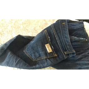Shorts Jeans Hot Pants Cos Alto Marca Pison Tamanho 42