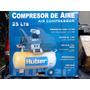 Compresor De Aire Marca Huber, 25 Lts, 115psi, 2hp, 3400rpm