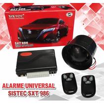Alarme Automotivo Universal Sistec Sxt 986 + Mód. V.e. Cobra