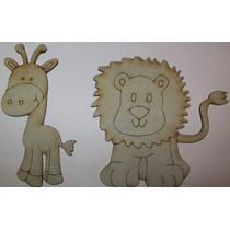 Figuras Mdf Manualiades Decoracion Bebe Pintar Personajes